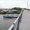 Eine große Brücke eigens für Fußgänger und Radfahrer bietet noch einmal einen Panoramablick.