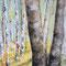 Birkenhain, Acryl auf Leinwand, 2016, € 80,-