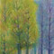 冬を待つ木々 水彩色鉛筆 アクリル ケント紙 2006年作