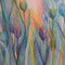 花宴 水彩色鉛筆 アクリル ケント紙 2006年作