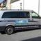 Kleinbus/Transporter, konturgeschnittene Folie und Digitaldruck