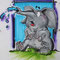 Dusch Elefant