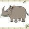 Nashorn - Vektorgrafik