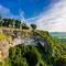 Vue imprenable sur la vallée de la Dordogne depuis le village de Domme