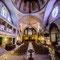 Cahors, l'intérieur de l'église