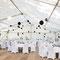 Zelt mit Fussboden  10 m x 20 m (Foto: Nicole Ludwig)