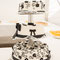 Hochzeitstorte schwarz - weiss; Stadtbäckerei Rödel, Köthen (Foto: Nicole Ludwig)