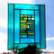 modernes Tiffany Fensterbild grün