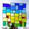Sonnenfänger Tiffany Fensterbild Rapsfeld
