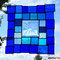 Fensterbild modernes Glasbild Tiffany
