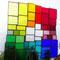 modernes Tiffany Fensterbild XL Regenbogen