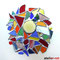 wildes Mandala Fensterdeko Tiffany