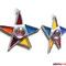 Sterne 2er Set Tiffany Anhänger
