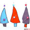 Tannen 3er Set Tiffany Weihnachtsschmuck