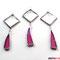Tiffany 3er Set dezente Anhänger aus Facettenglas