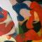 『 浮遊する赤い言葉 』2007 油彩 F150