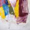 『 受け容れる無限の、ただ単純な事 』 2010           アクリル・油彩 / 布団シーツ・キャンバス・パネル (1818mm × 2273mm)