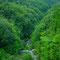 九州の屋根と呼ばれる椎葉の上流
