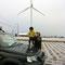 吾妻の風力発電機
