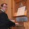 Organist Roger Sohler