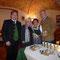 v.l.n.r. Arūnas Pečiulis (Künstlerischer Leiter), Brigitte Trnka (Sprecherin), Renate Harant (Gesamtleitung), Walter Steidl (Soziallandesrat)