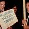Beim Chorwettbewerb in Nancy, Frankreich 1985 - Gerold Mühleder und Horst Deutl