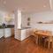 Essecke mit Küche - Wohnung 2 -  Ferienhaus Traumblick