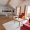 Wohnzimmer - Wohnung 1 - Ferienhaus Traumblick