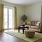 Wohnzimmer Wohnung 4 - Ferienhaus Traumblick