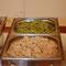 Sauerkraut & grüne Nudeln