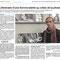 Article Ouest France du samedi 10 novembre 2018 - ©Christine Pennec