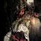 ©Annovazzi Artgallery (Caterina Annovazzi) - Pèlerin en gésine flanqué de la tentation - 60x80cm - Sur papier ColdPress Natural 340grs - Art digital