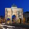 München - Siegestor am Abend - Fotorechte Tommy Loesch