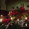 Weihnachtssterne und Kerzen - was könnte besser harmonieren?