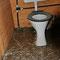 08.06.2013 - Aufräumarbeiten 2. Tag - WC vorher