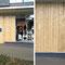 2006, Kunstverein Ruhr, Essen, Projektion als Teil einer Schaufensterverkleidung