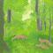 キタキツネの森