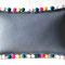Filzkissen grau aus 3 mm dicken Filzplatten, 50 x 30 cm, 42 Euro