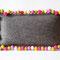 Filzkissen natur meliert aus 3 mm dicken Filzplatten, 45 x 25 cm, 45 Euro