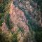 Im Sommer reicht das erste Sonnenlicht ins Tal hinein und lässt die Reste des Granit Plutons erglühen.