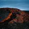 ...casts intense light on old lava