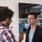 Radio CHU en plein interview