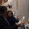 Jean-Louis David découvre l'exposition