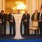 Marie Noëlle Lopenague et les présidents des JSA