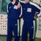 Abdy Heraf und Peter Stöger waren mit dem Team im Sachsengang und besuchten den Hort
