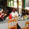 Das erste Abendessen in Tansania