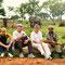 Bei den Elefanten in Ghana an der Grenze zu Burkinofaso