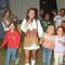 Antonia beim Zeltfest in Lassee