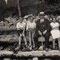 Von Links: H.U.Schwaar, Christian, Vater, Anni, ca. 1930 im Eggiwil