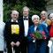Nach einem Konzert von Alexander Dubach, von links: Peter Schwaar, H.U. Schwaar, Alexander Dubach, Margrit Schwaar, Walter Schlapbach, Erika Schlapbach